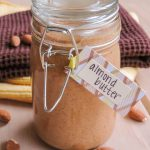 Homemade Honey Roasted Almond Butter