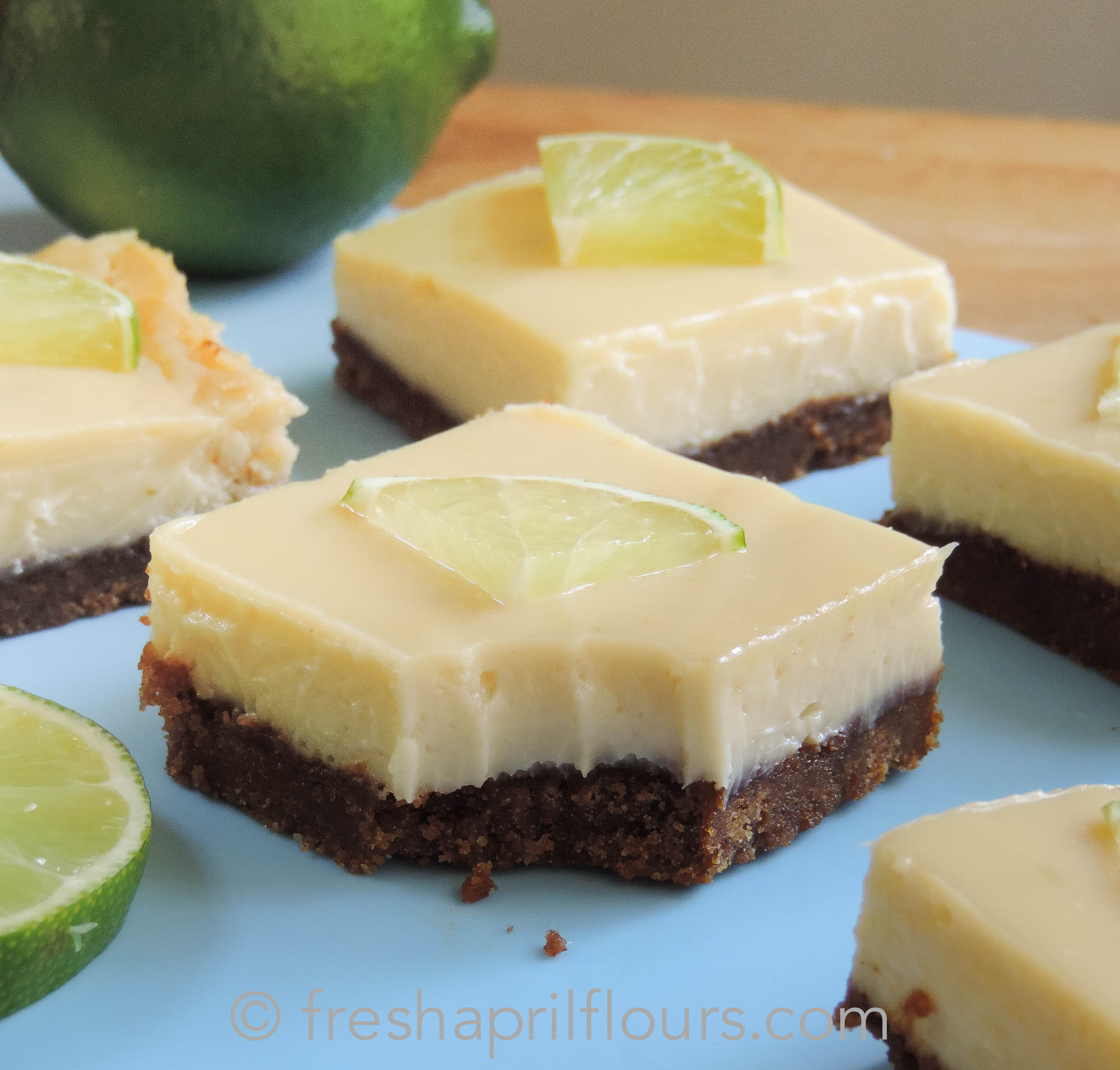 Lime Squares With Pistachio Graham-Cracker Crust Recipe ...