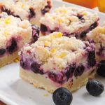 Blueberry Lemon Pie Bars