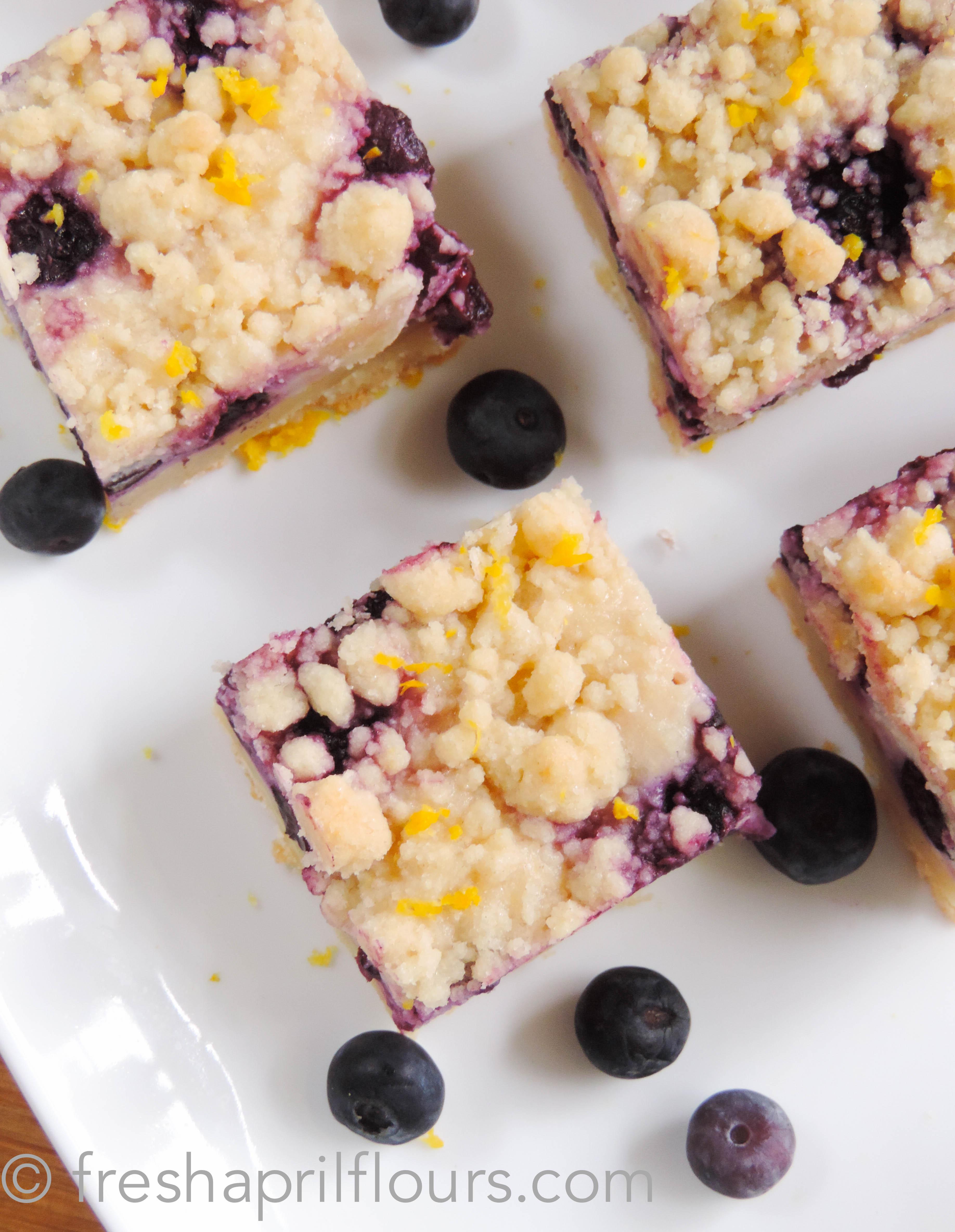 blueberry cream cheese squares shortbread crust