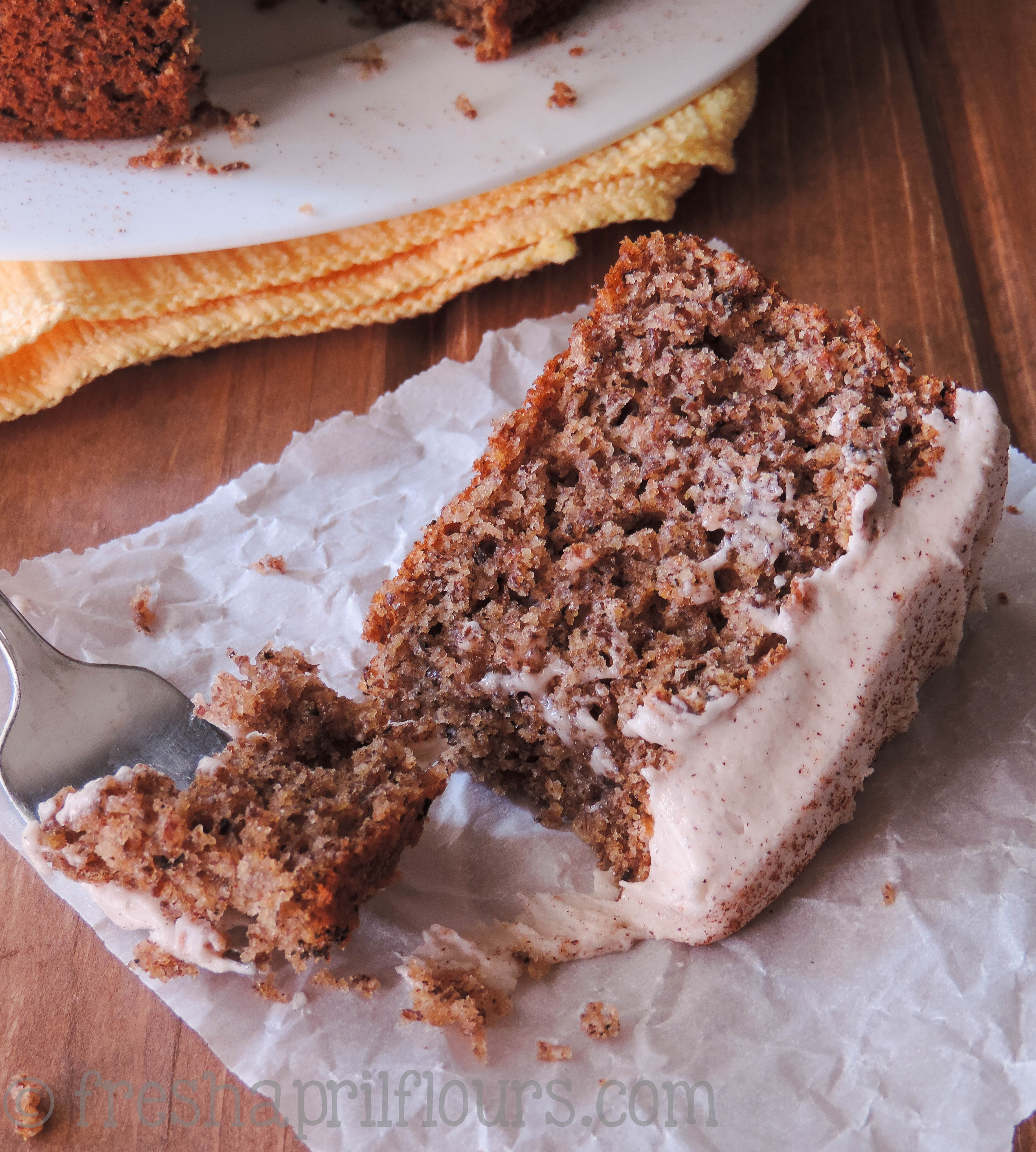 Chai Cake With Spiced Cream Cheese Frosting