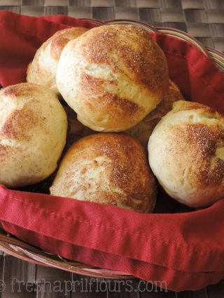 Cardamom Rolls: These spiced and slightly sweet yeast rolls are crunchy on the outside and pillowy soft on the inside.