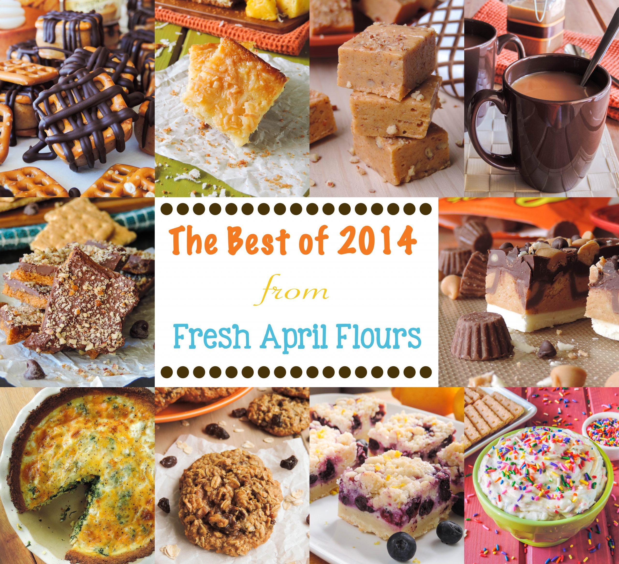 The Best of 2014 from Fresh April Flours