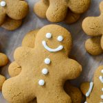 Spiced Gingerbread Cookies: Tender cookies with crisp edges, lightly sweetened with brown sugar and completely loaded with spicy gingerbread flavors.