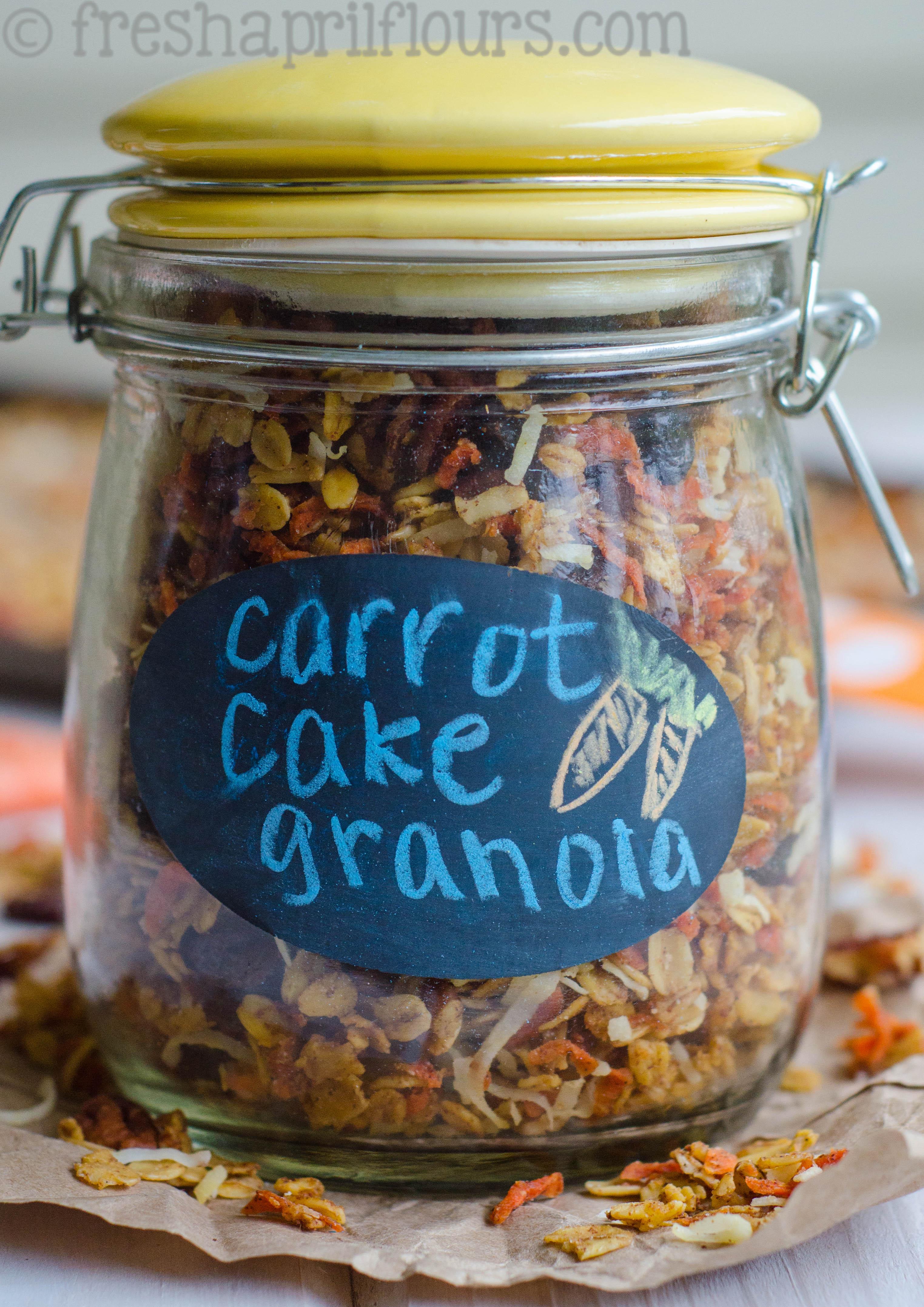 Soft-Baked Carrot Cake Granola