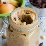 Homemade Cinnamon Raisin Peanut Butter