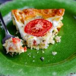 Crustless Caprese Quiche: A crustless, low-carb quiche bursting with flavorful basil, creamy mozzarella, and juicy tomatoes.