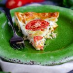 Crustless Caprese Quiche