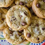 Classic Chocolate Chip Cookies: Slightly crisp edges lead to a soft and chewy interior. Plus, no mixer required!