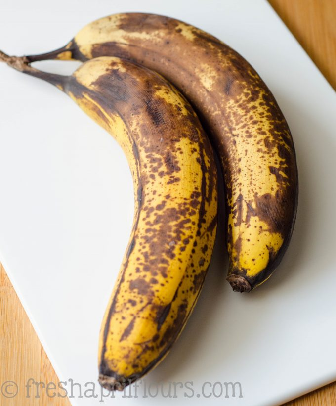 very brown bananans
