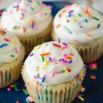 Homemade Funfetti Cupcakes: Sprinkle-speckled cupcakes that taste BETTER than the ones from the box, topped with creamy, sprinkle-filled vanilla buttercream. Ditch the mix and make your own funfetti cupcakes from scratch!