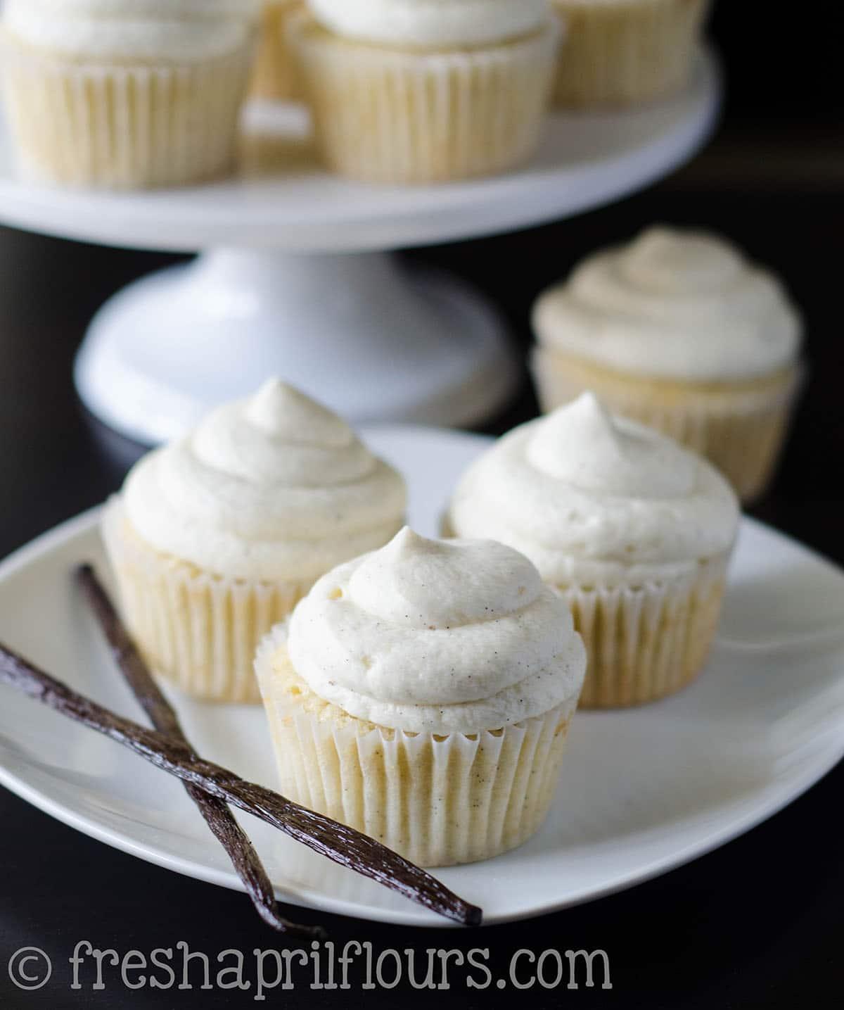 Vanilla Bean Cupcakes
