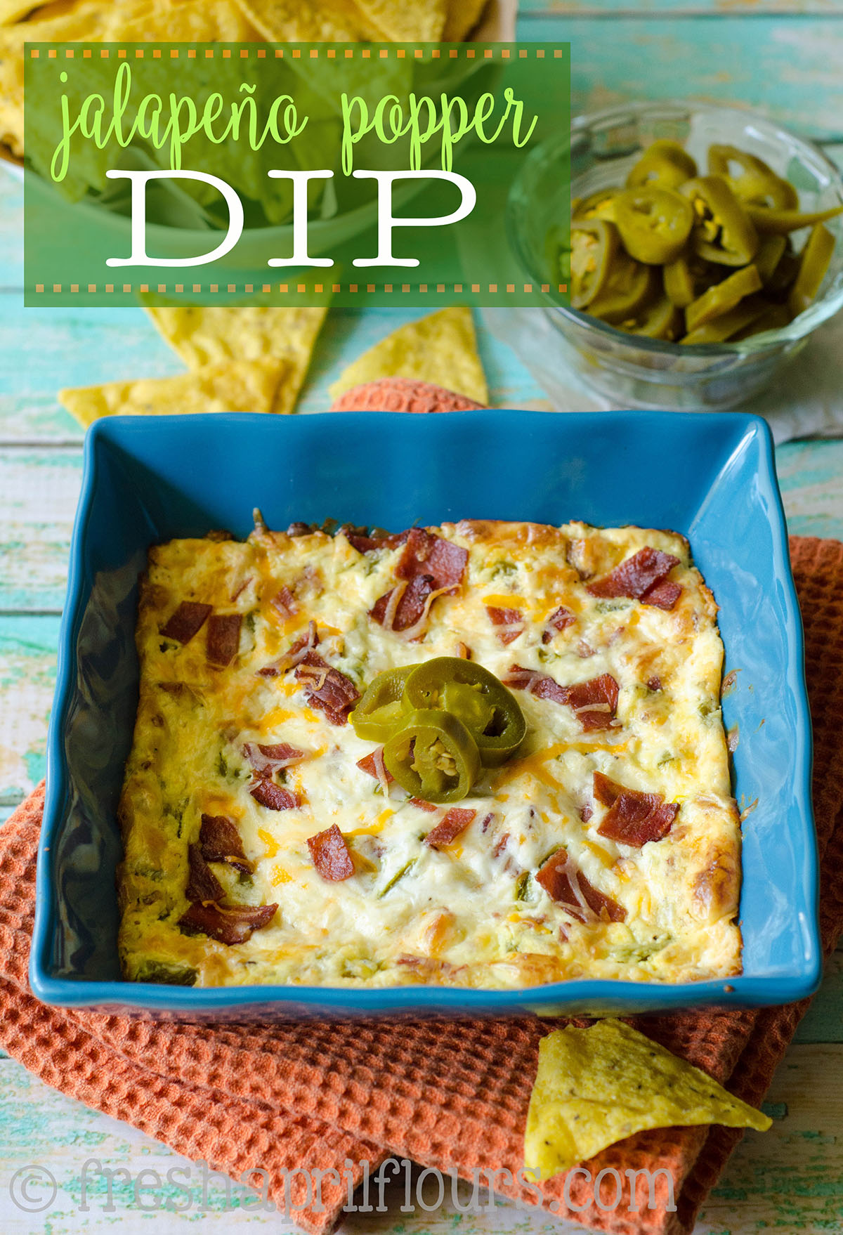 Jalapeño Popper Dip: Cheesy, creamy, spicy jalapeño popper dip is the perfect appetizer or side for any Mexican dish. Serve with chips, vegetables, or as a topping.