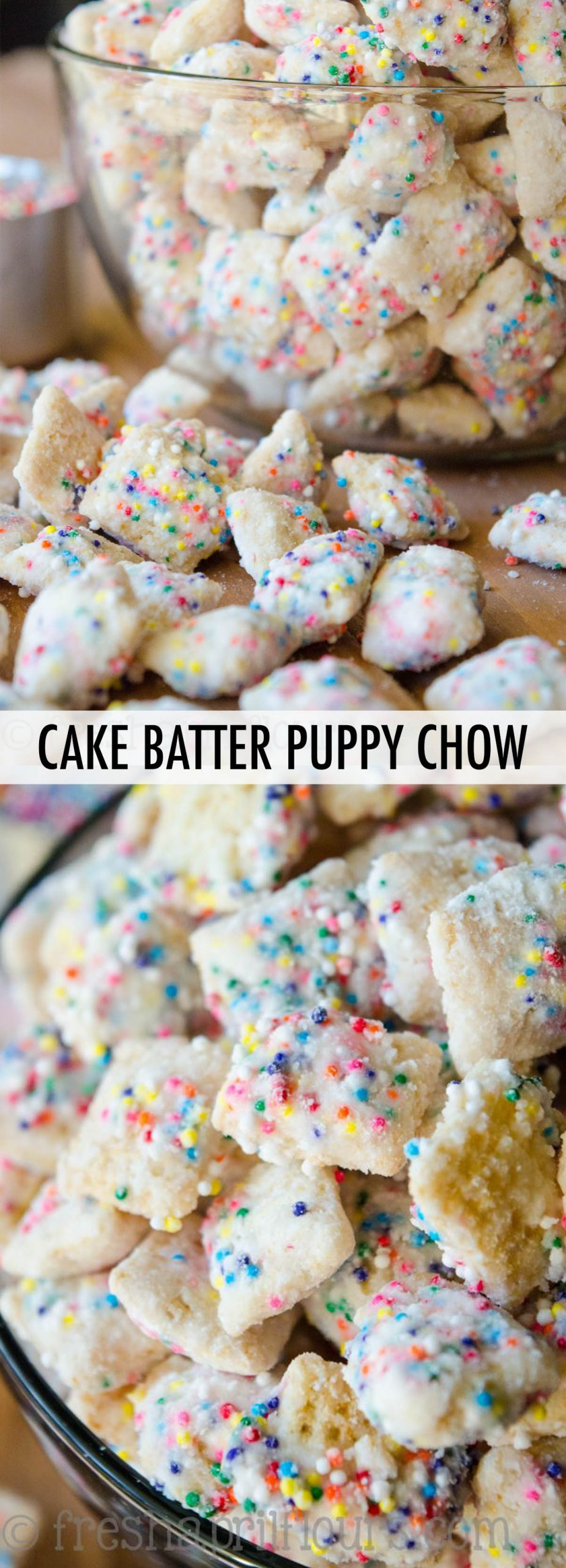 Outstanding Cake Batter Puppy Chow Funny Birthday Cards Online Alyptdamsfinfo