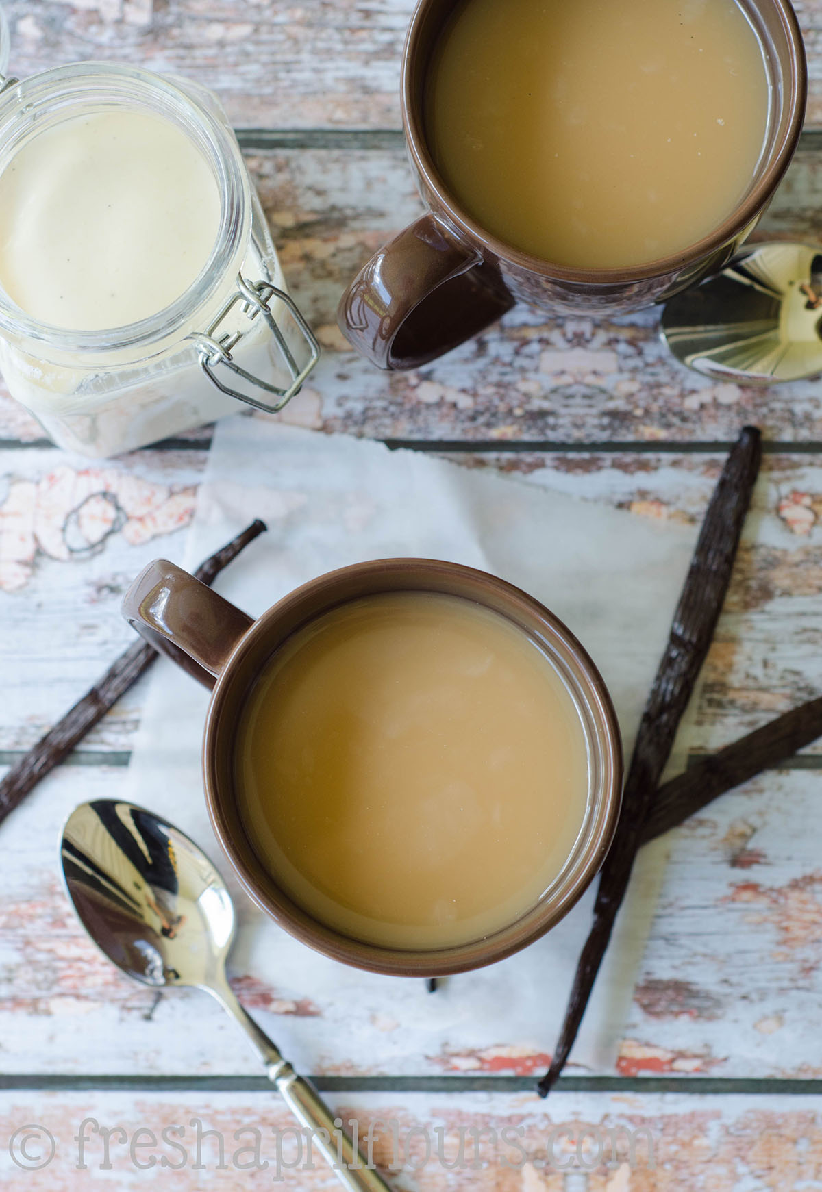 3 ingredients come together to create a rich creamer that is just the right amount of sweet for your ...