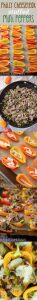 """Mini Philly Cheesesteak Stuffed Peppers: Don't let the """"mini"""" part fool you-- these bite-size peppers are packed with tons of flavor!"""