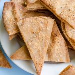 Homemade Pita Chips: Learn how to make your own crunchy, flavorful pita chips at home.