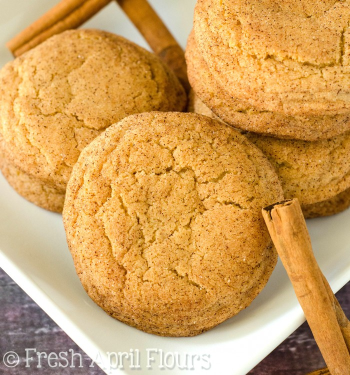 Classic Snickerdoodles: Crisp edges, melt-in-your-mouth centers, and all the cinnamon-sugar you could want from these classic cookies.