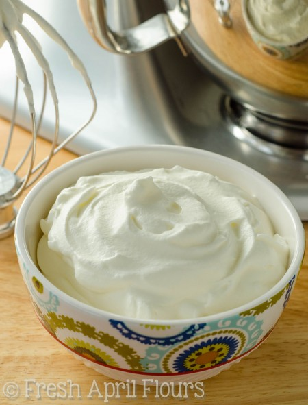 Homemade Whipped Cream: Making your own fresh whipped cream at home is much easier than you think it is, and tastes worlds better than anything you can buy!