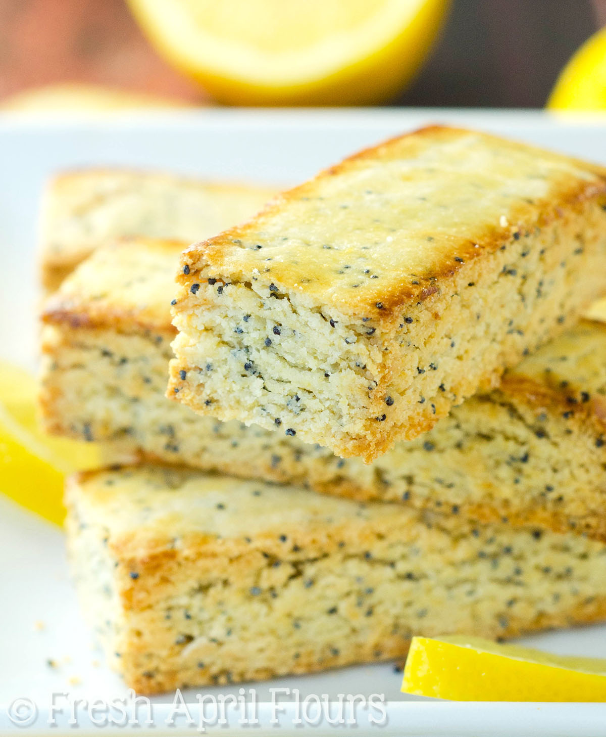 Lemon Poppy Seed Biscotti