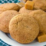 Salted Caramel Stuffed Snickerdoodles
