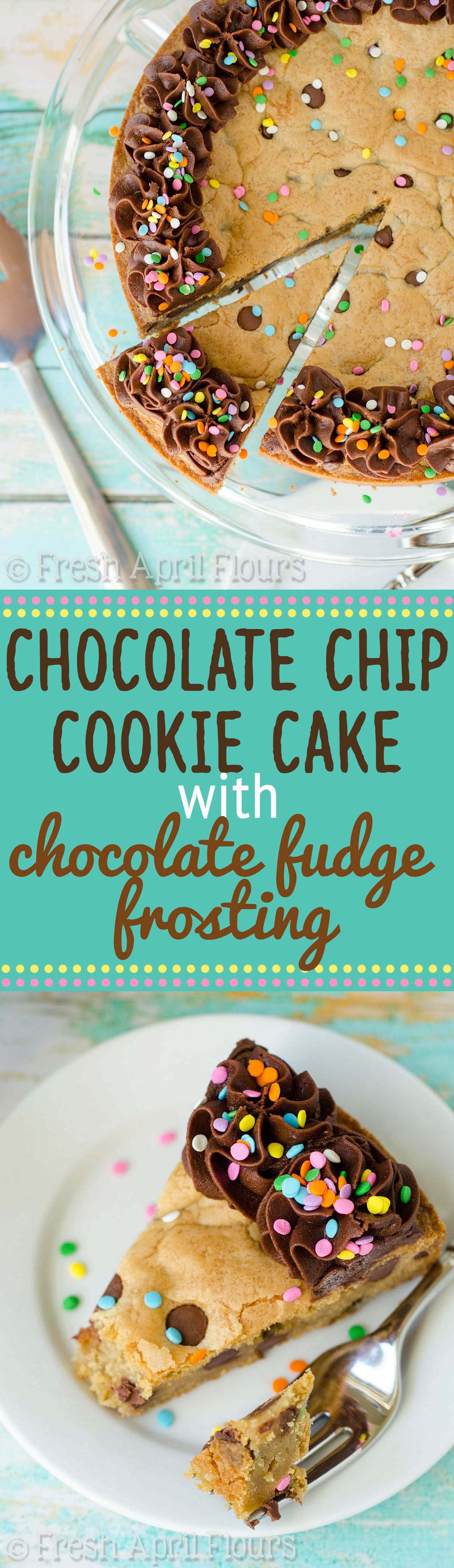 Giant cookie cake frosting recipe