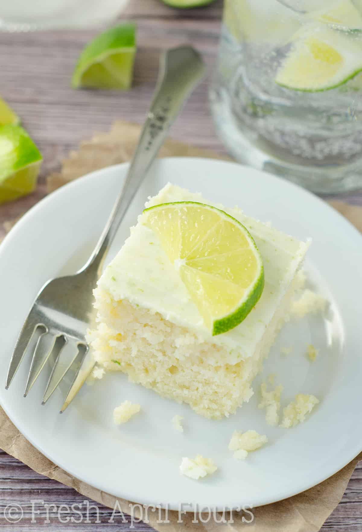 Gin & Tonic Snack Cake