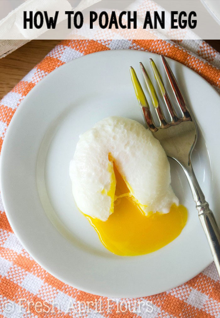 Step-by-step instructions with pictures to teach you how to poach the perfect egg every time.
