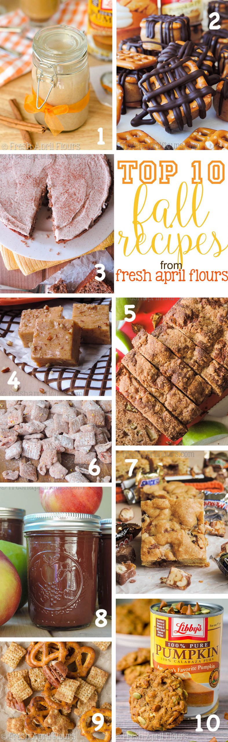 Top 10 Fall Recipes from Fresh April Flours