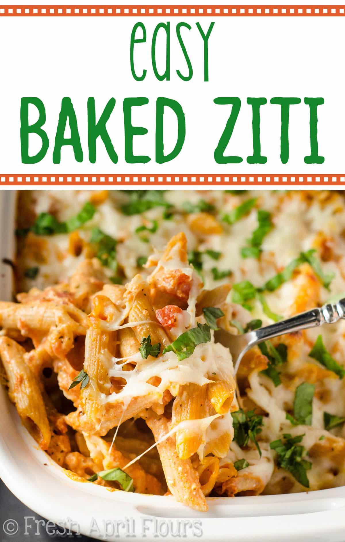 My Favorite Baked Ziti