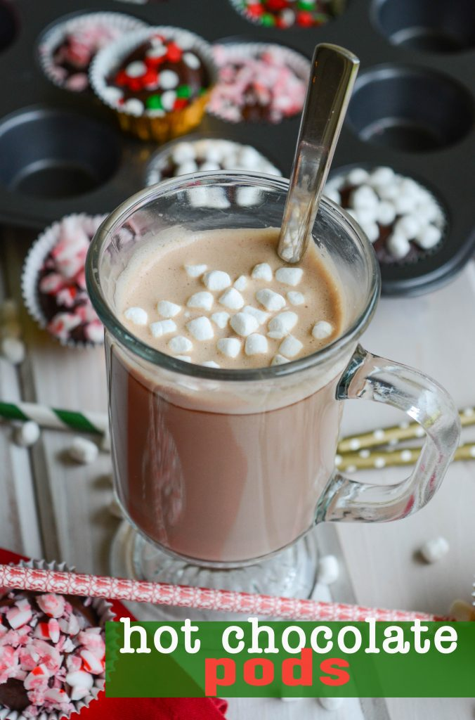 Hot Chocolate Pods: Toss these pods into a mug of warm milk and you instantly have smooth, creamy, homemade hot chocolate!