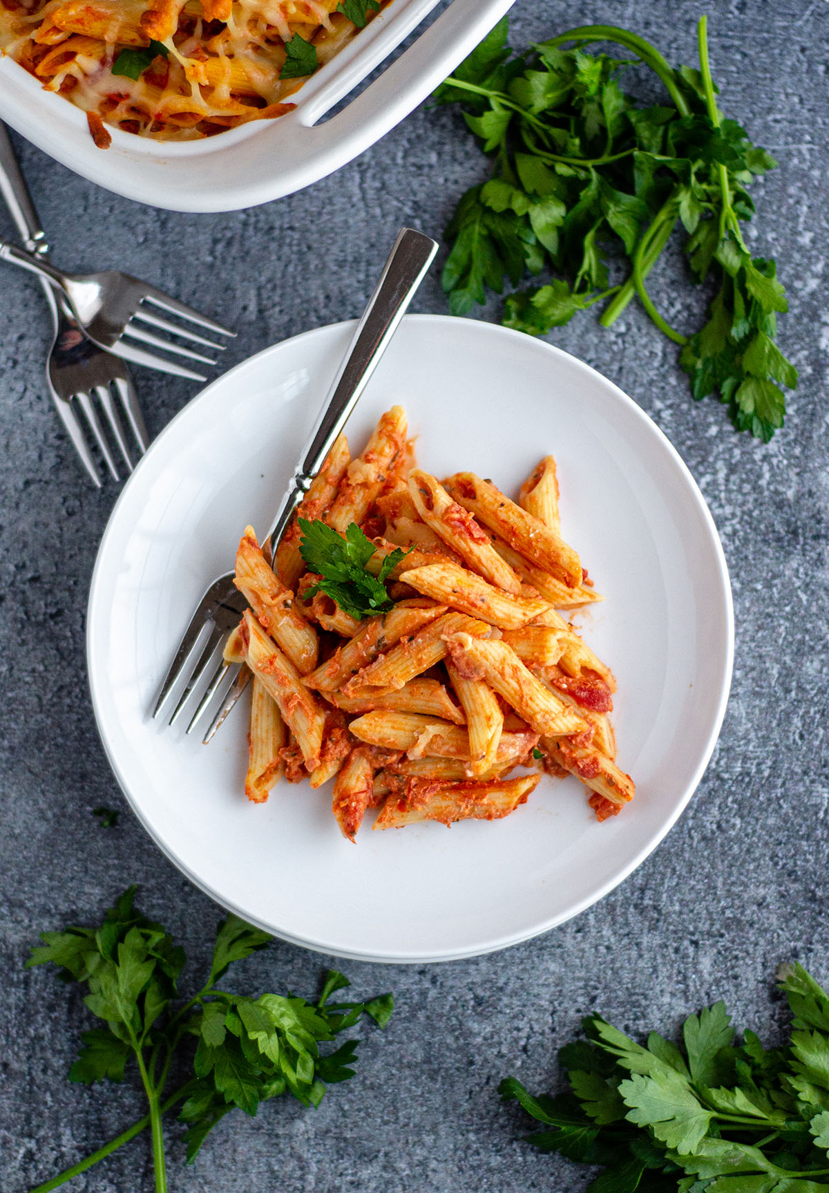 My Favorite Baked Ziti: This easy casserole goes from start to eating in far less than an hour. Perfect for entertaining or a quick dinner idea.