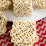 Gingerbread Rice Krispies Treats