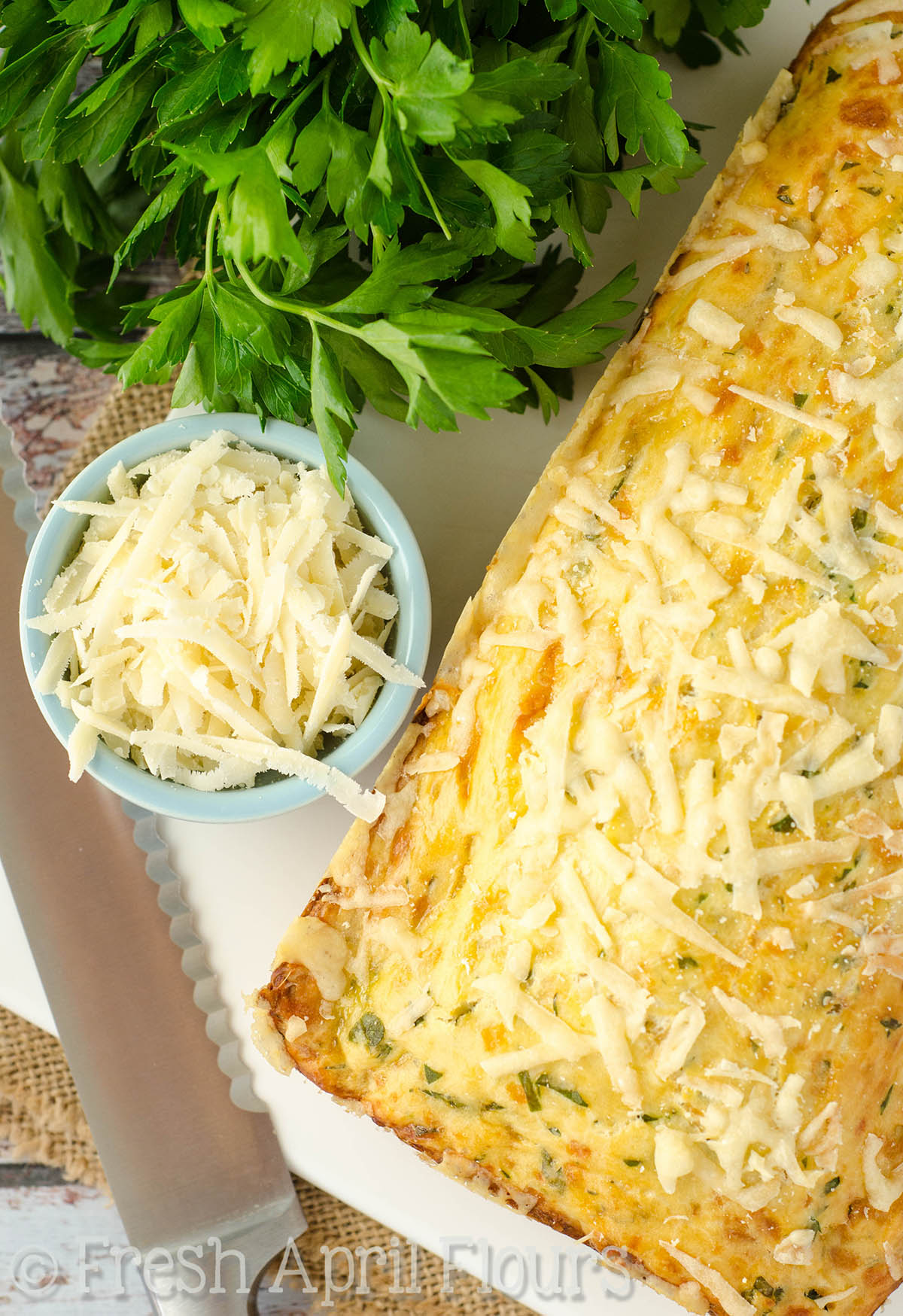Eva's Parmesan Parsley Bread
