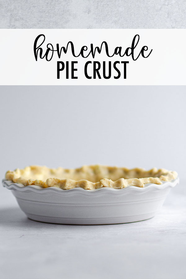 Learn how to make your own buttery, flaky, perfect pie crust at home. This is a double crust recipe.