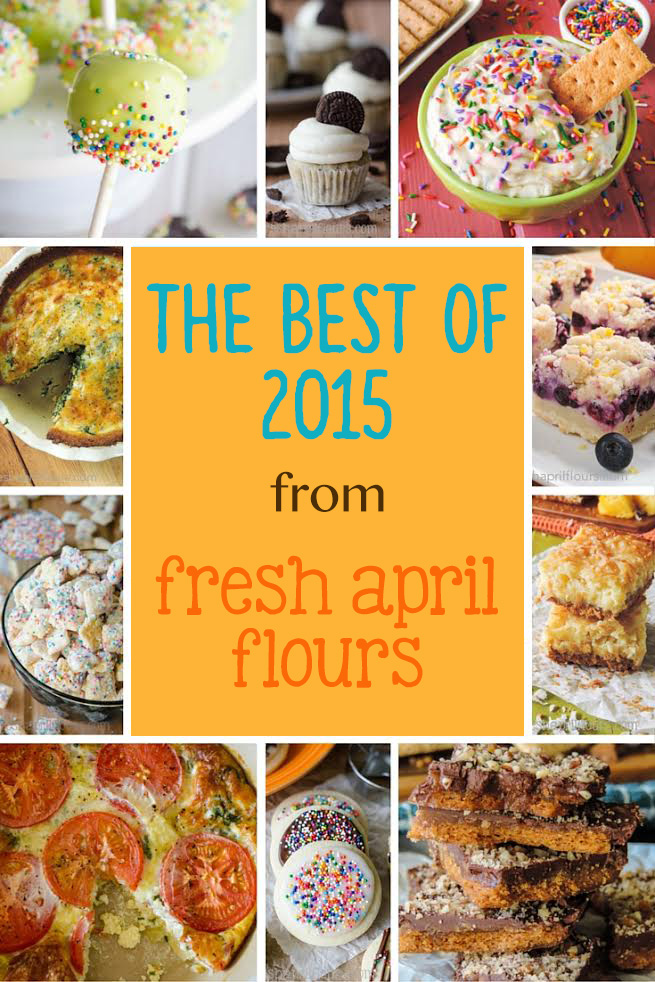 The Best of 2015 from Fresh April Flours
