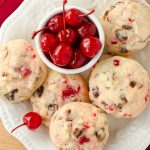 Cherry Almond Date Cookies