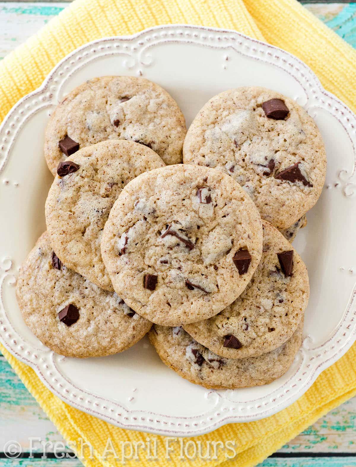Eggnog Chocolate Chunk Cookies