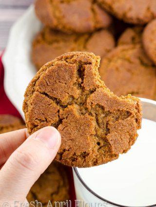 Gingersnap Cookies– 2 Ways
