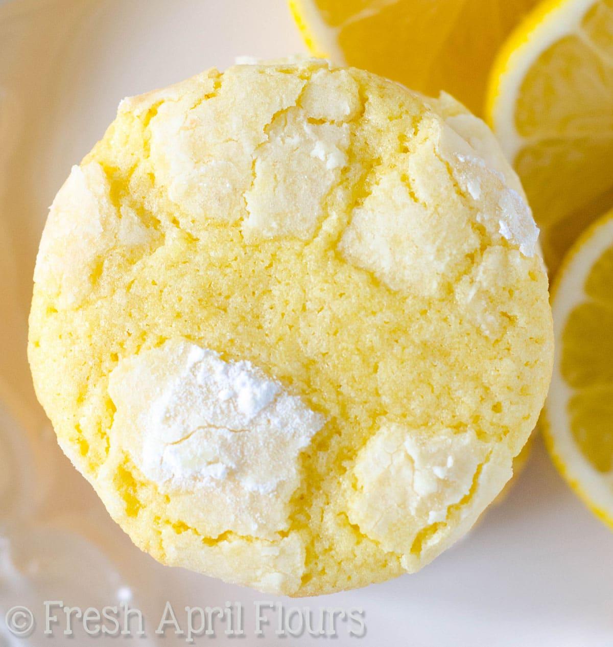 Lemon Crinkle Cookies Cake Mix