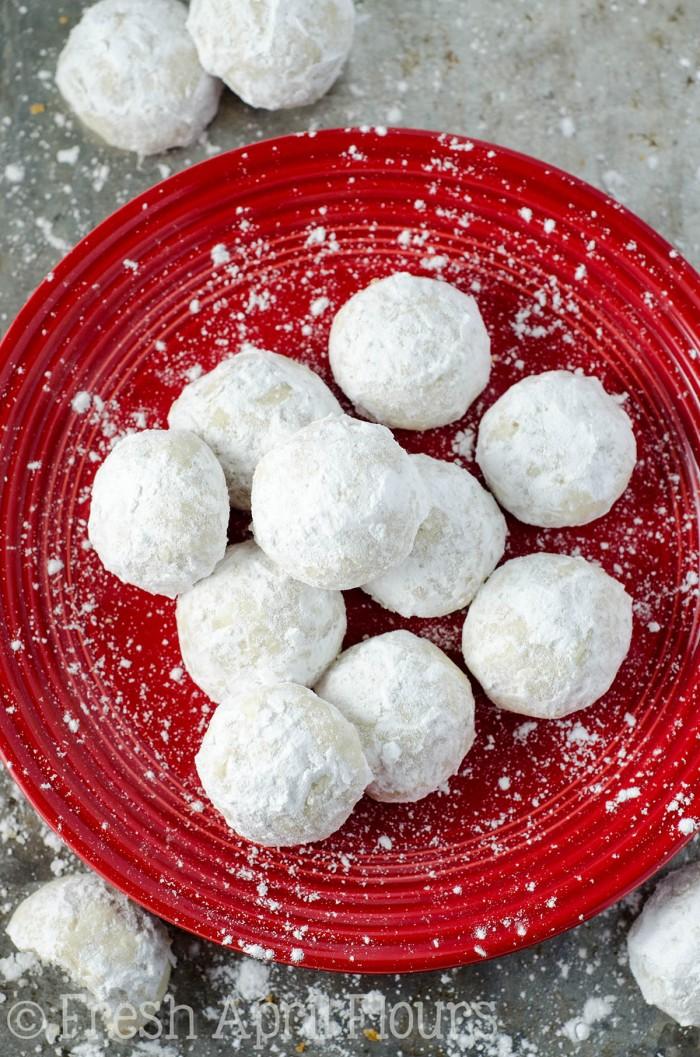 Russian Tea Cakes Snowballs Fresh April Flours