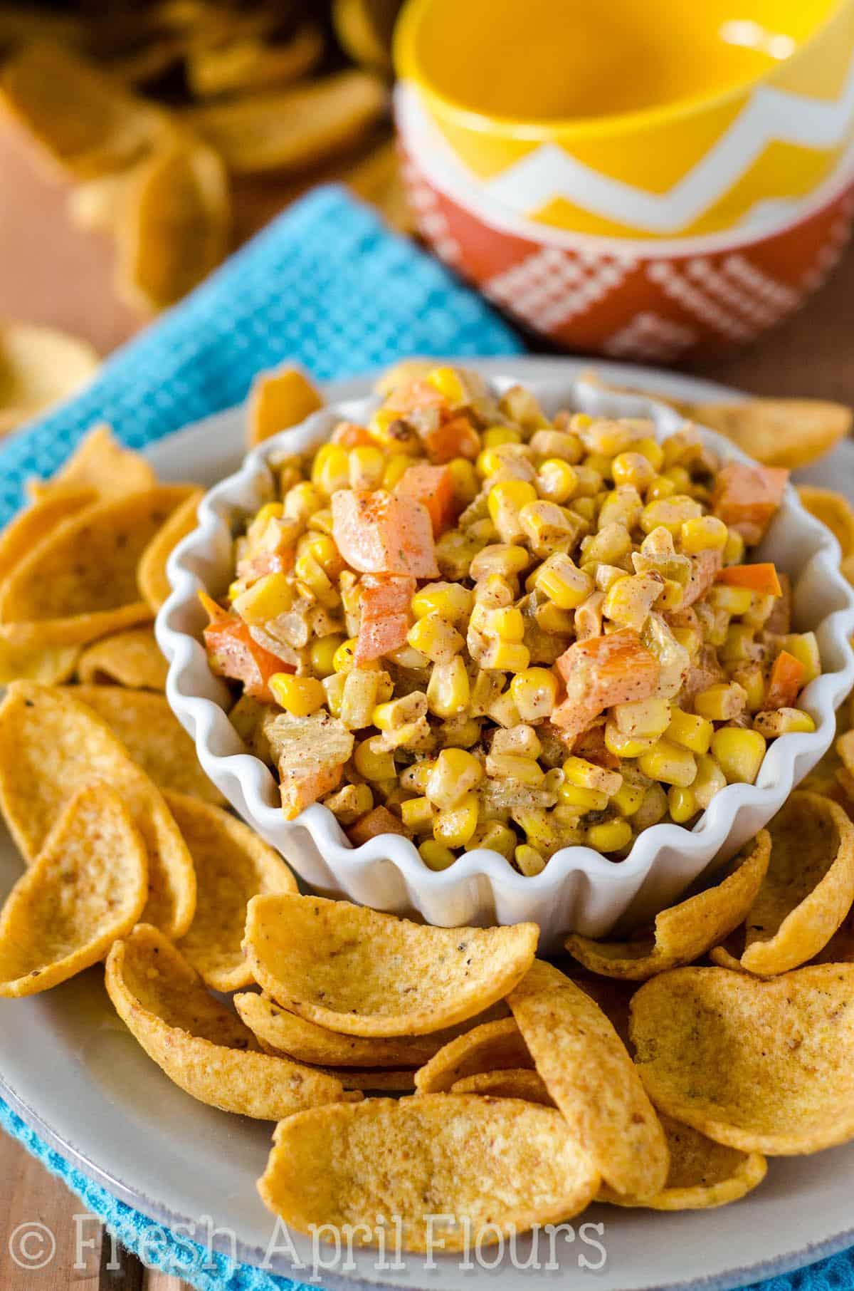 Creamy Southwest Corn Dip