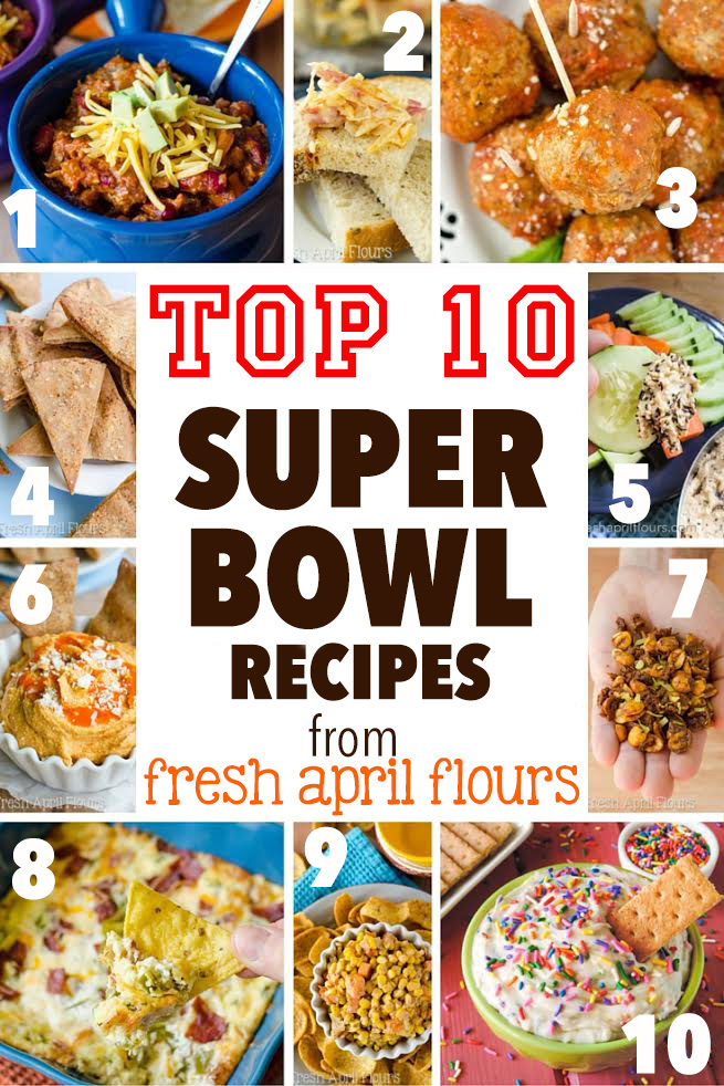 Top 10 Super Bowl Snacks
