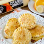 Cheesy Orange Marmalade and Ginger Puff Pastry Bites