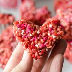Red Velvet Rice Krispies Treats