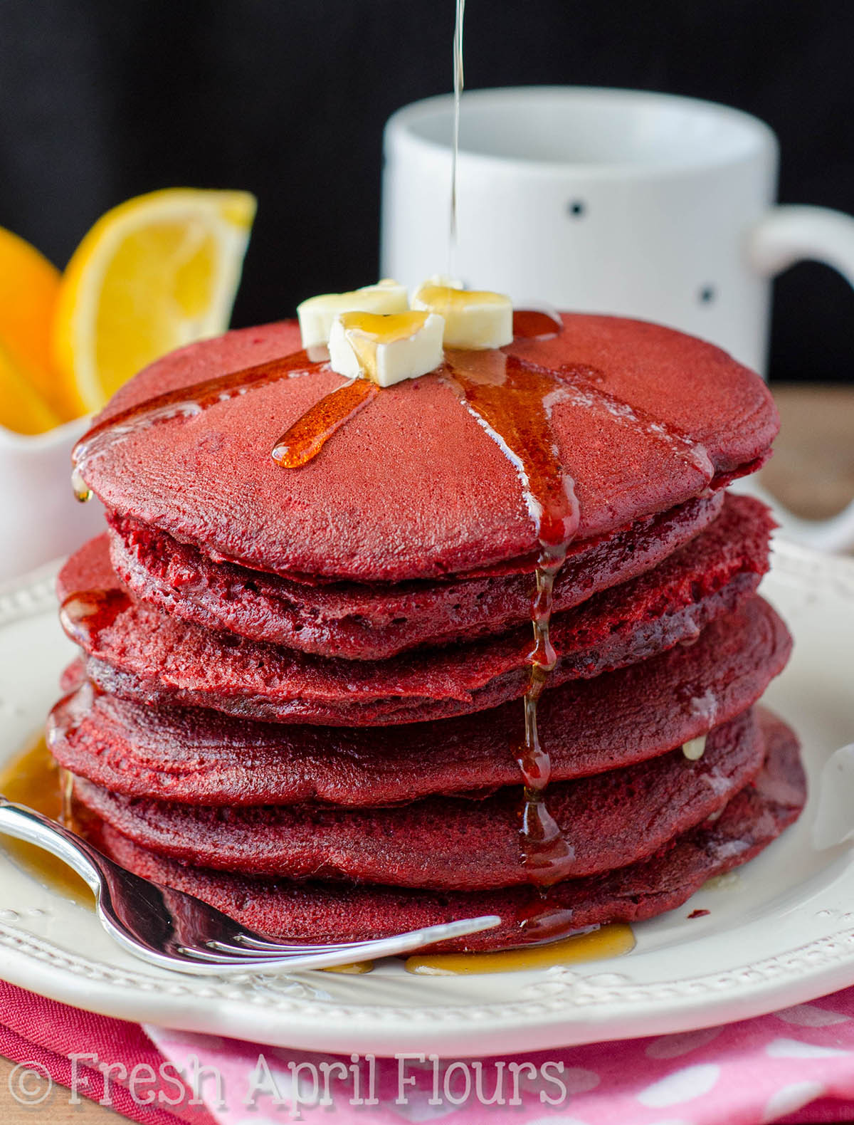 Red Velvet Cake Pancakes Recipe