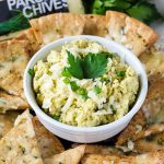 Cheesy Parsley & Chive Hummus