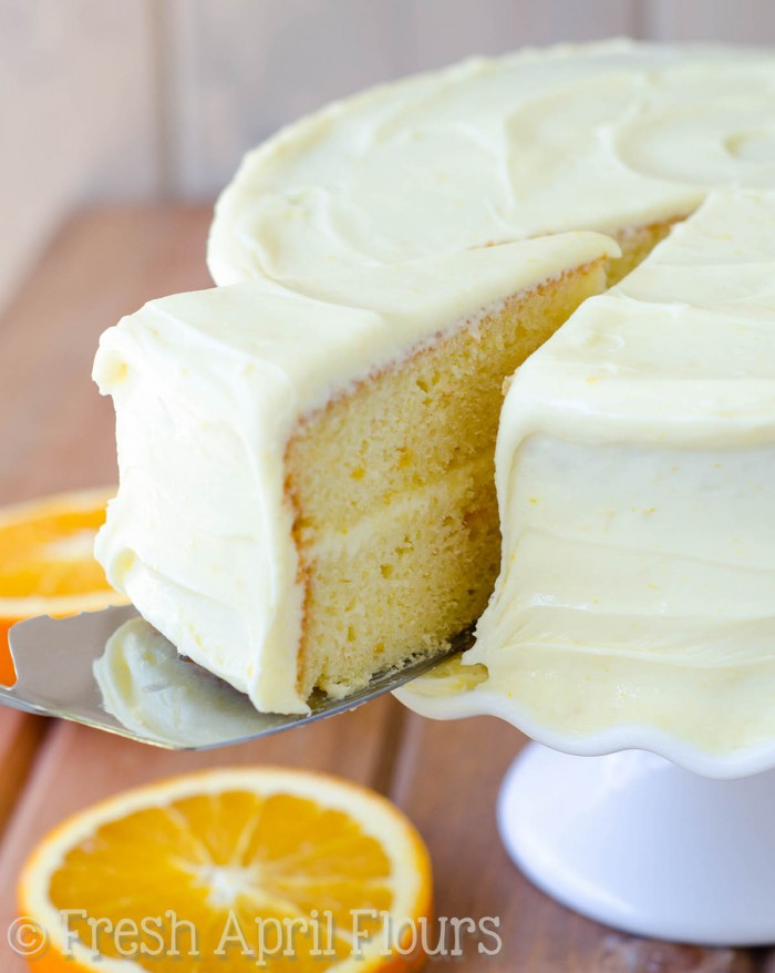 Orange Marmalade Layer Cake Recipe