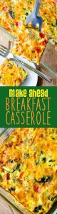This overnight sausage, vegetable, and egg casserole can be frozen or made a day in advance for easy entertaining. Completely customizable and great for feeding a crowd!
