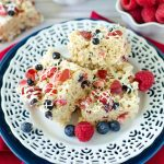 Red, White, & Blue Rice Krispies Treats
